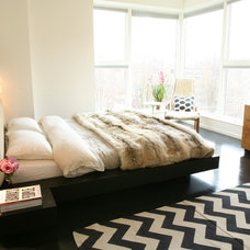 Contemporary Bedroom by Leslie Glazier @ Properties