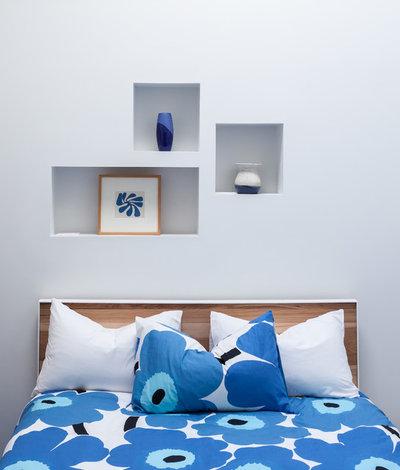 モダン ベッドルーム by Vicki Simon Interior Design