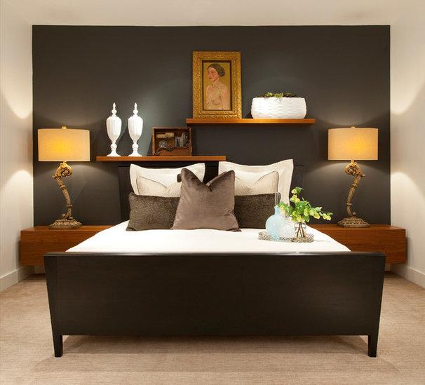Contemporary Bedroom by Wesley-Wayne Interiors, LLC