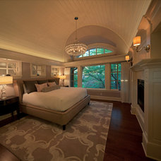 Transitional Bedroom by Kyle Hunt & Partners, Incorporated