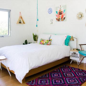 Modern + Vintage Bedroom Ideas
