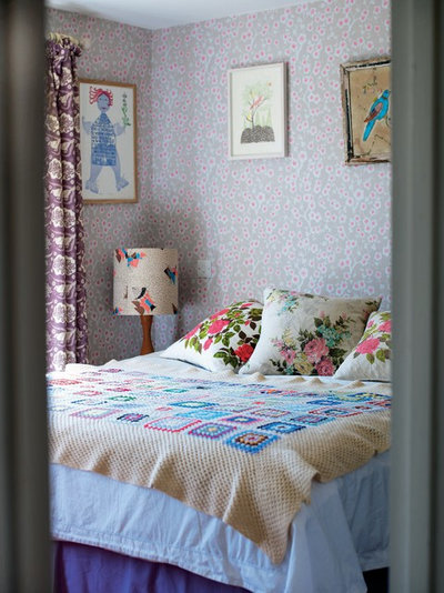 Eclectic Bedroom by Emily Chalmers | Caravan Style Ltd.