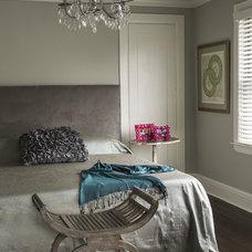 Contemporary Bedroom by Carol Brewer Interiors