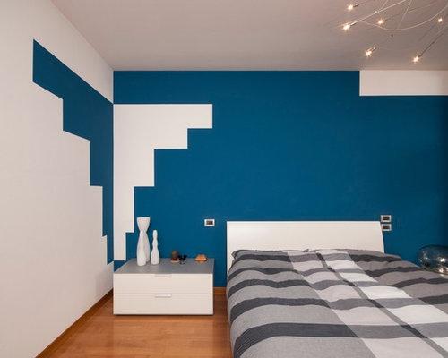 Camere da letto moderna foto e idee - Pareti camera da letto moderna ...