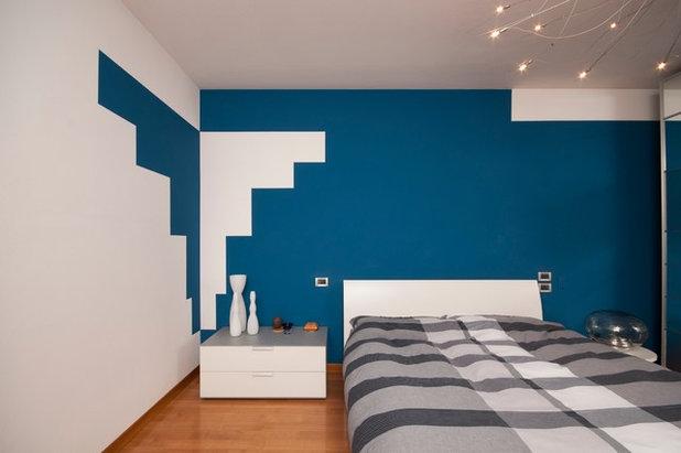 Guida houzz tutto su pitture ed effetti d cor per pareti for Pareti colorate particolari