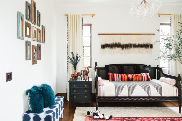 Eclectic Bedroom by Beachy Boheme Interiors