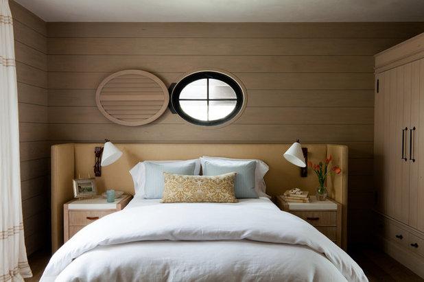 Средиземноморский Спальня by M. Elle Design