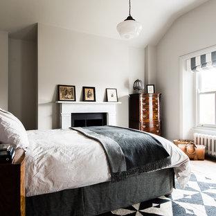 MONOCHROME BEDROOM AND BATHROOM