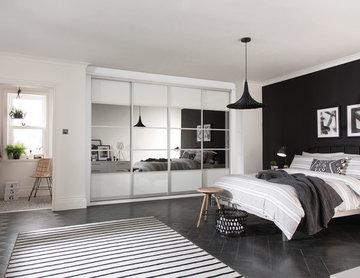 Monochrome Bedrooms