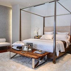 Contemporary Bedroom by Shelley Starr Design