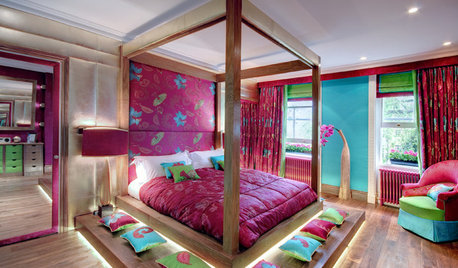 25 Bedrooms That Are Not Afraid to Use Colour