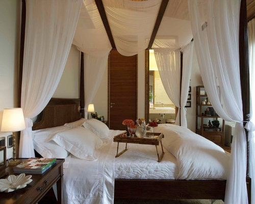 SaveEmail. Houzz   Romantic Canopy Bed Design Ideas   Remodel Pictures