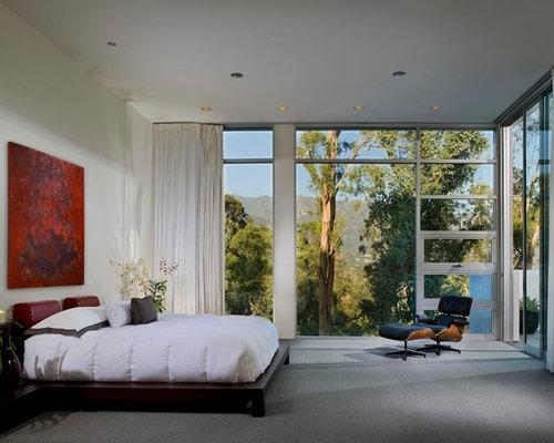 Modern bedroom design ideas remodels photos houzz for 500 decoration details minimalism