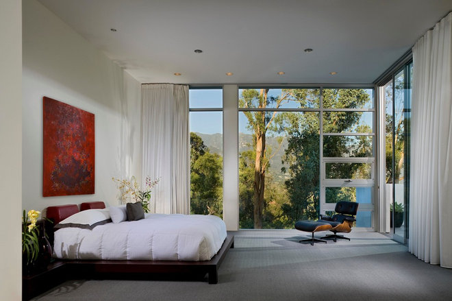 Modern Bedroom by The Warner Group Architects, Inc.
