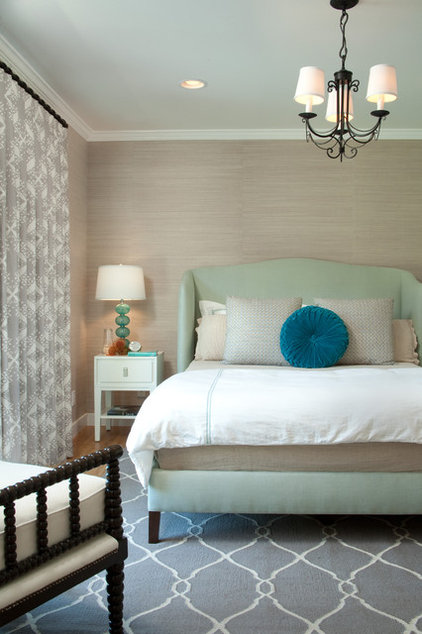 Traditional Bedroom by Jessica Risko Smith Interior Design
