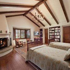 Mediterranean Bedroom by Giffin & Crane General Contractors, Inc.