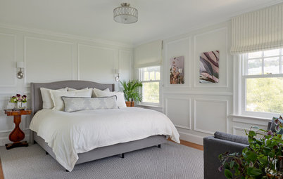 Master Bedroom Goes Light and Classic
