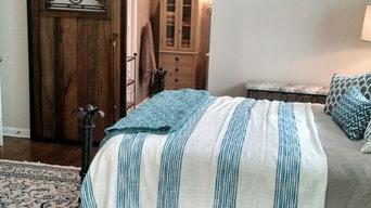 Monticello Master bedroom and bath