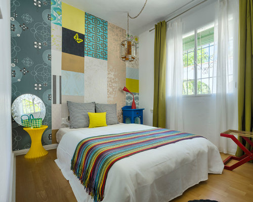 Eclectic Bedroom Design Ideas Renovations Photos With