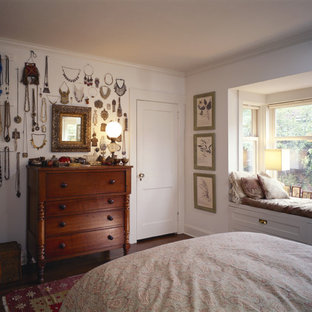 Example of an arts and crafts bedroom design in Seattle