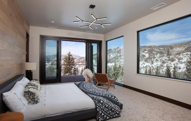 Contemporary Bedroom by Rumor Design + reDesign