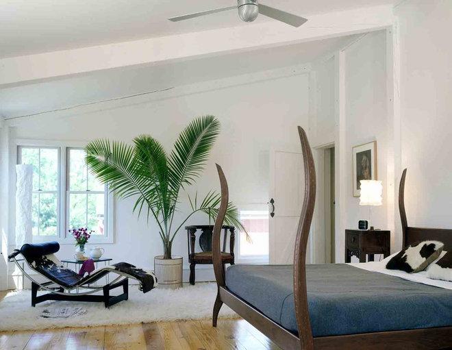 Farmhouse Bedroom by Sandvold Blanda Architecture + Interiors LLC