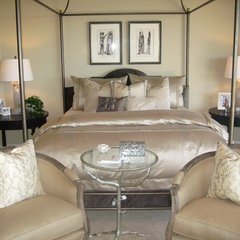 mediterranean bedroom by D for Design