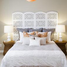 Mediterranean Bedroom by Natalie Fuglestveit Interior Design