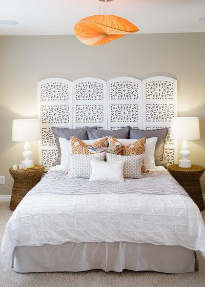 Средиземноморский Спальня by Natalie Fuglestveit Interior Design