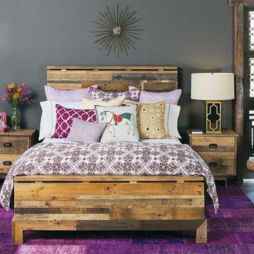 Moroccan Modern - Tioga Bed