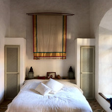 mediterranean bedroom Moroccan Riad Bedroom