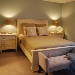 traditional bedroom by MoJo Design Inc.