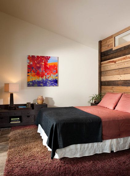 Rustic Bedroom by Mindful Designs, Inc.