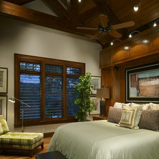 Contemporary Bedroom by Tidewater Lumber and Moulding, Inc.