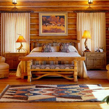 Mountain Getaway - Rocky Mountain Log Homes