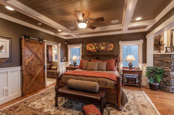 Rustic Bedroom by Trimble Kelly Studios