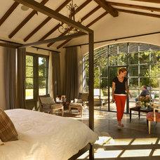 Mediterranean Bedroom by Bernardo Grijalva Photography