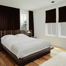 transitional bedroom by Tim Cuppett Architects