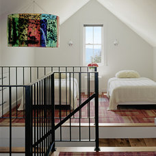 eclectic bedroom by Tim Cuppett Architects
