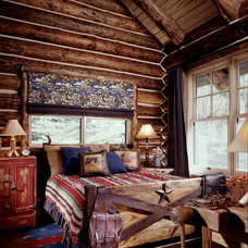 Rustic Bedroom by Greenauer Design Group