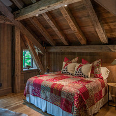 Rustic Bedroom by Vintage Lumber Sales