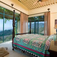 Mediterranean Bedroom by Trillium Enterprises, INC.