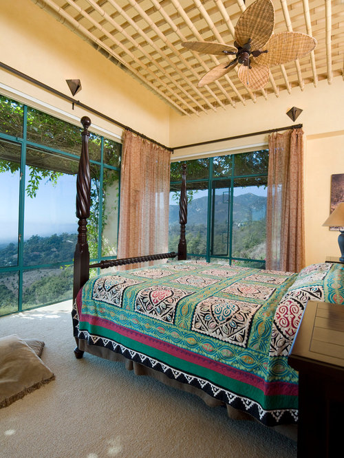 Custom ceilings ideas pictures remodel and decor for Southwestern bedroom designs