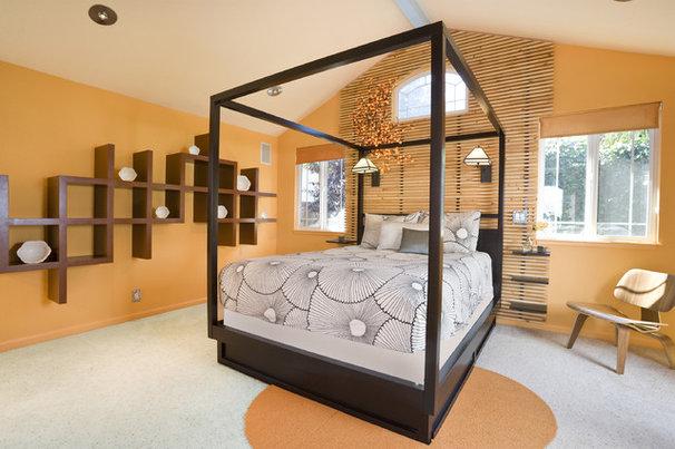 Tropical Bedroom by Susan Diana Harris Interior Design
