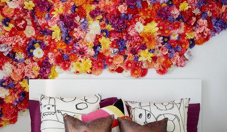 Au printemps fleurissent les murs !