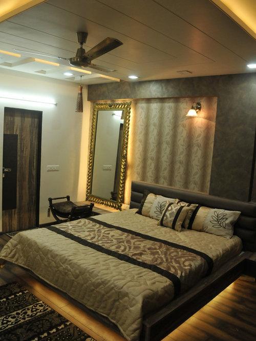 chambre victorienne avec un mur noir photos et id es d co de chambres. Black Bedroom Furniture Sets. Home Design Ideas