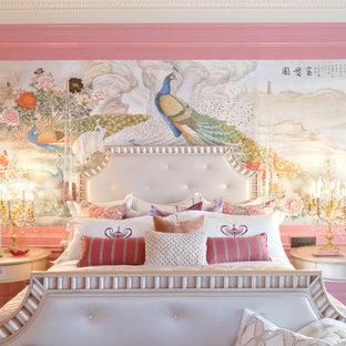 Inspiration för ett eklektiskt sovrum