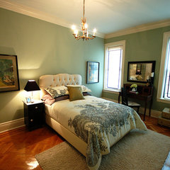 traditional bedroom MrsLimestone- Guest Room 3