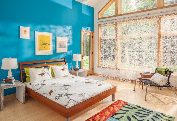 Современный Спальня by Irvin Serrano