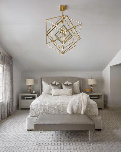 Transitional Bedroom by Emily Sidoti Photography